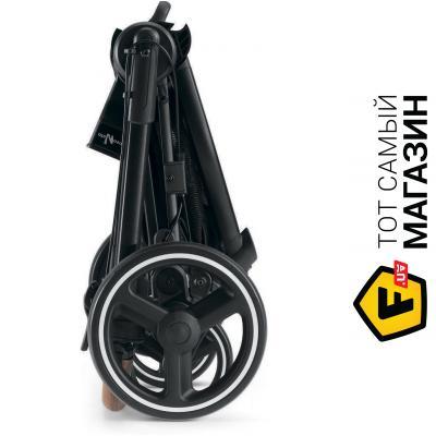 Коляска Neonato Slick 2в1 бежевый/черный (N945BL/N912T855K)
