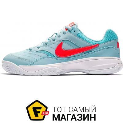 Кроссовки Nike Court Lite 6 US, light-blue/coral (845048-401)
