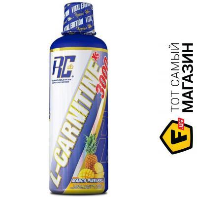 Жиросжигатель Ronnie Coleman Signature Series L-Carnitine-XS Liquid 465мл, манго/ананас
