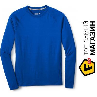 Термофутболка Smartwool Men`s Merino 150 Baselayer Long Sleeve XL, bright blue (14042.378-XL)