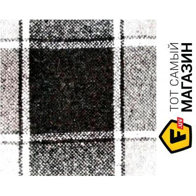 Плед Vladi Палермо 140x200см, белый/серый/темно-серый (4123)
