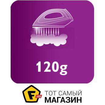 Постоянная подача пара до 120 г/мин