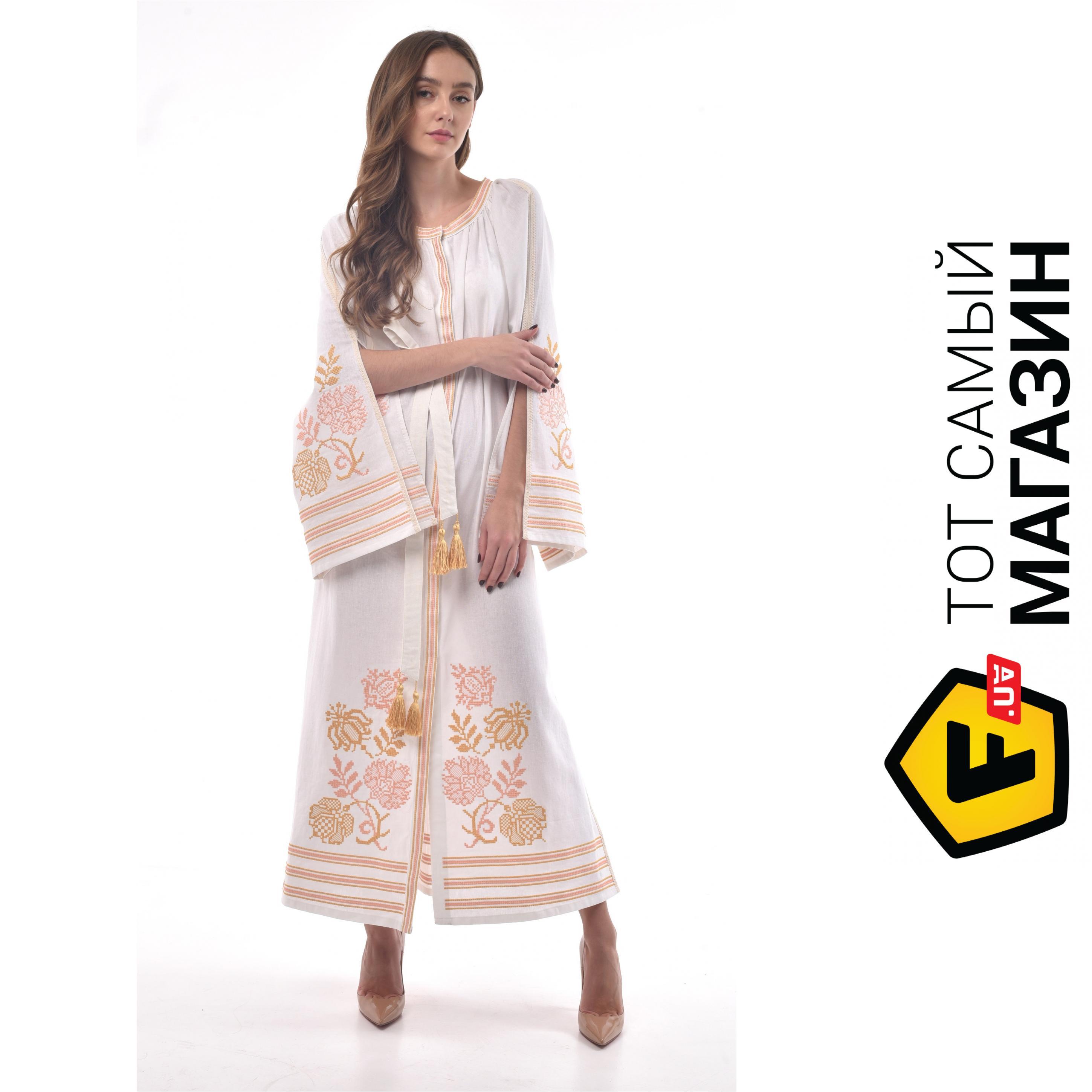 9c2e49d6943 ᐈ Платье-вышиванка 2KOLYORY ``Княжна`` M-L Белый ~ Купить  ЦЕНА ...