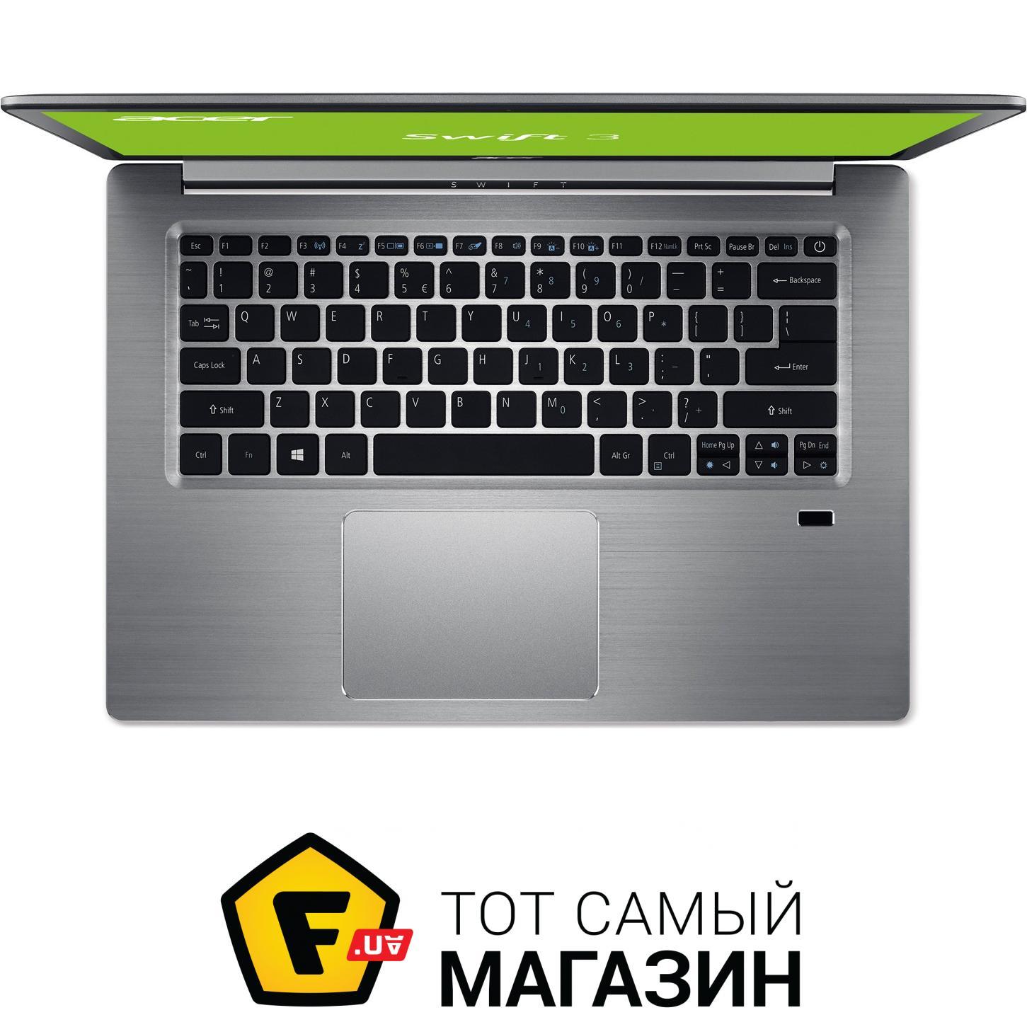 Ноутбук Acer Swift 5 SF514-51-75AC NX.GNHER.003 (Intel Core i7-7500U 2.7 GHz/8192Mb/256Gb SSD/No ODD/Intel HD Graphics/Wi-Fi/Bluetooth/Cam/14.0/1920x1080/Boot-up Linux)