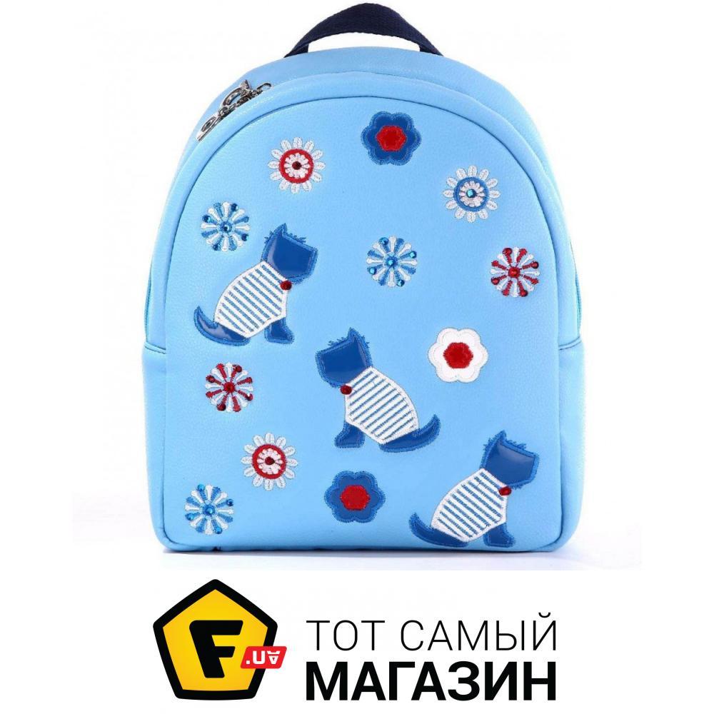 44aa1c93cae7 ᐈ ALBA SOBONI Детский рюкзак из кожзаменителя 1835 голубой ~ Купить ...