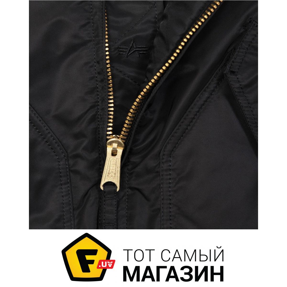 d5a7607a Alpha Industries CWU 45/P Slim Fit Flight Jacket XL, Black (MJC47501C1)