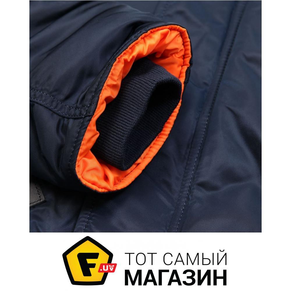 3e32f3d2b8f ᐈ ALPHA INDUSTRIES Slim Fit N-3B Blue Orange