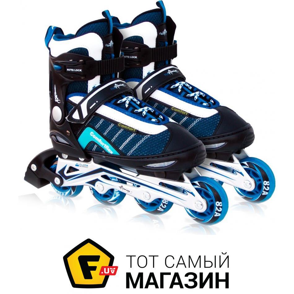 4fa53983e82e7e ᐈ AMIGO Comfortflex Combo 28-31 Blue + комплект защиты ~ Купить ...