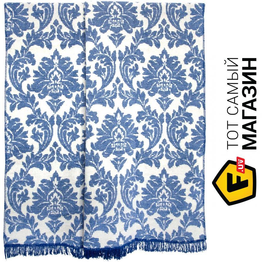 Плед двуспальное 220 x 200 см легкое синий Arya Siena 200x220см ... 644ae8513180f