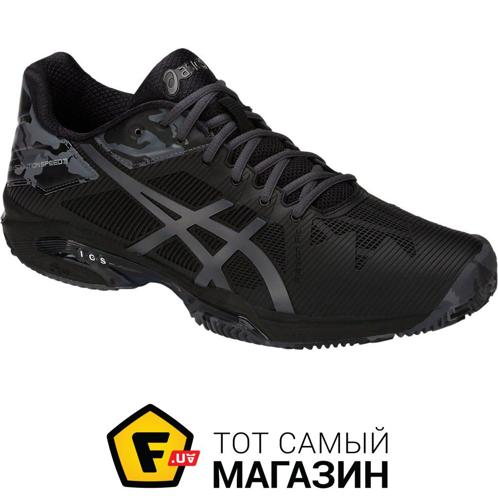 28fa354ccddaaf ᐈ ASICS Gel-Solution Speed 3 Clay LE 8.5 US, black (E804N-9095 ...