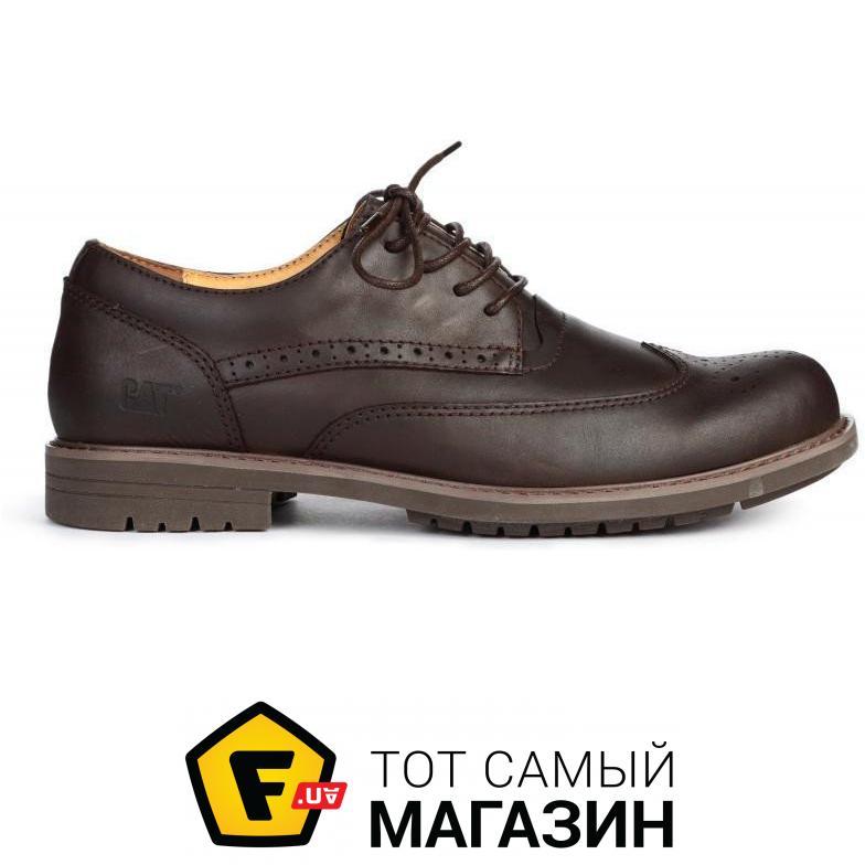 759888542 Caterpillar (CAT) Мужские туфли Caterpillar Oxford Borg Brown размер 43  (115394-43