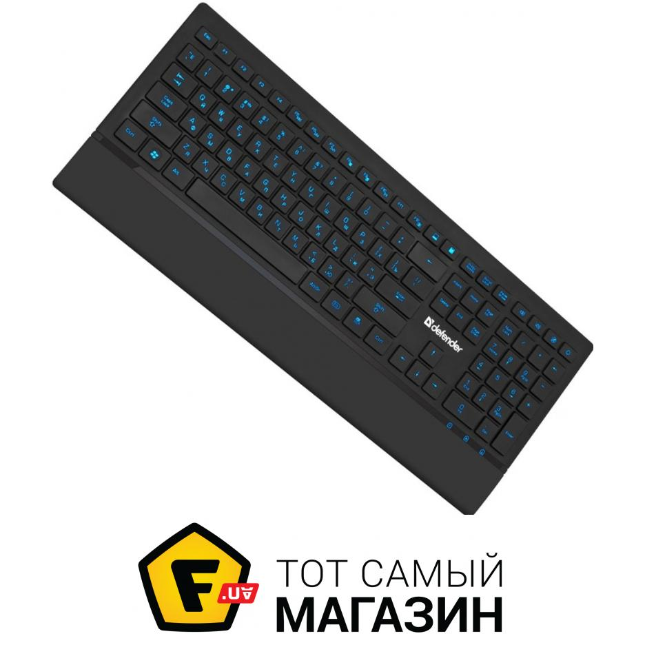 Клавиатура + Мышь Genius Wired Desktop Combo KM-130  USB Black Rus