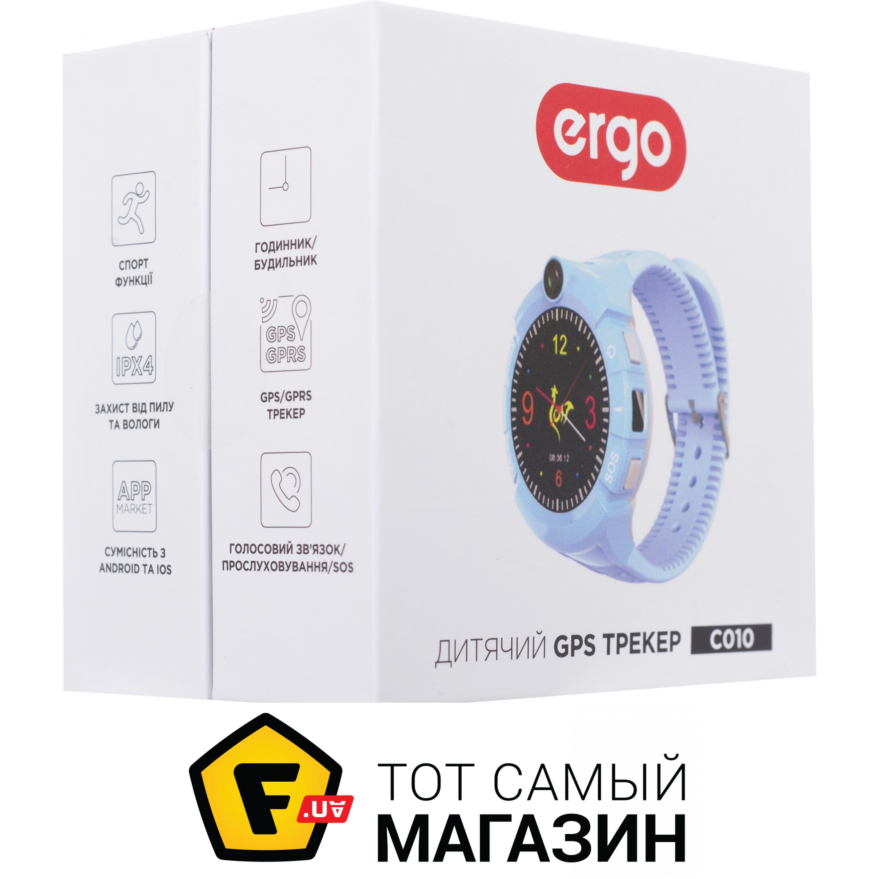 ᐈ ERGO GPS Tracker Color C010 ~ Надо Купить  ЦЕНА Снижена ERGO GPS ... 094e89377ba64