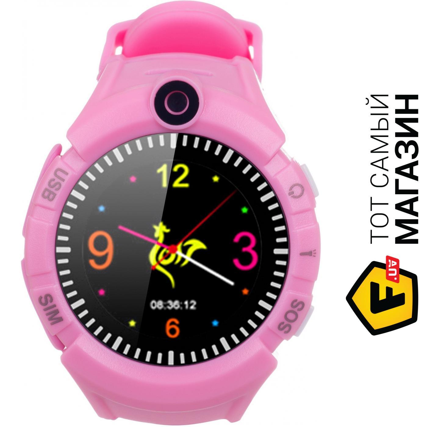 Детские смарт-часы Ergo GPS Tracker Color C010 Pink Тип  детские смарт-часы 37227bd77addb