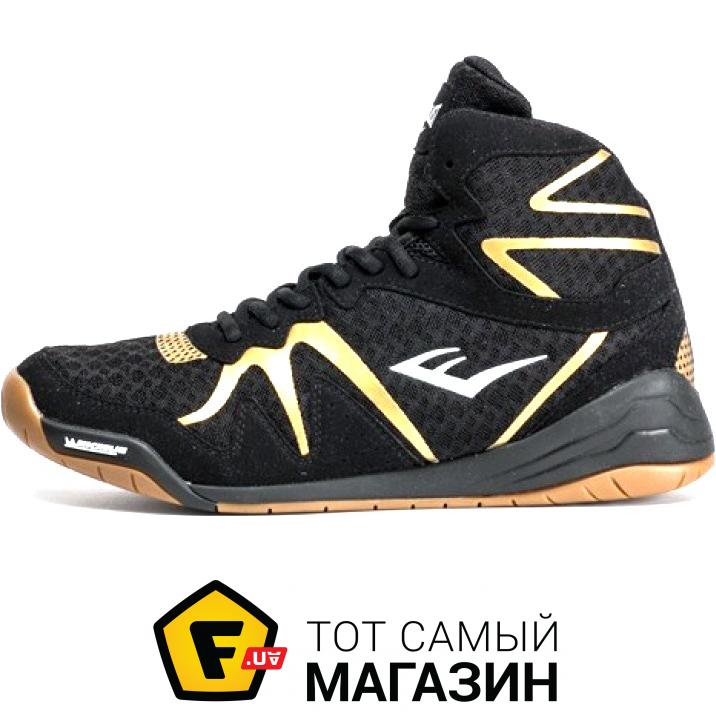 40934651acf6 Everlast Pivt Low Top Boxing Shoes 10 US, черный золотой (92835927