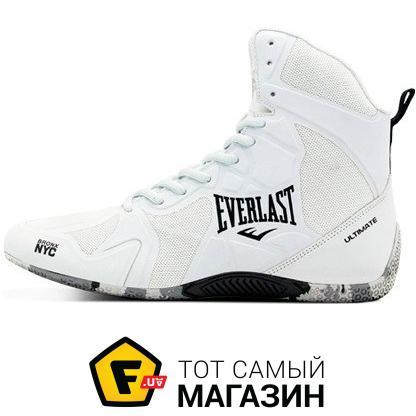 8367e5ffe4fb ᐈ EVERLAST Ultimate Boxing Shoes 42, белый (ELM-94B) ~ Купить  ЦЕНА ...