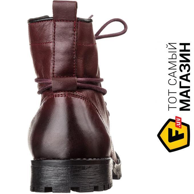 677ca6fc0 Ботинки Goergo 918733 37, Бордовый Материал верха: натуральная кожа, 3 из 5