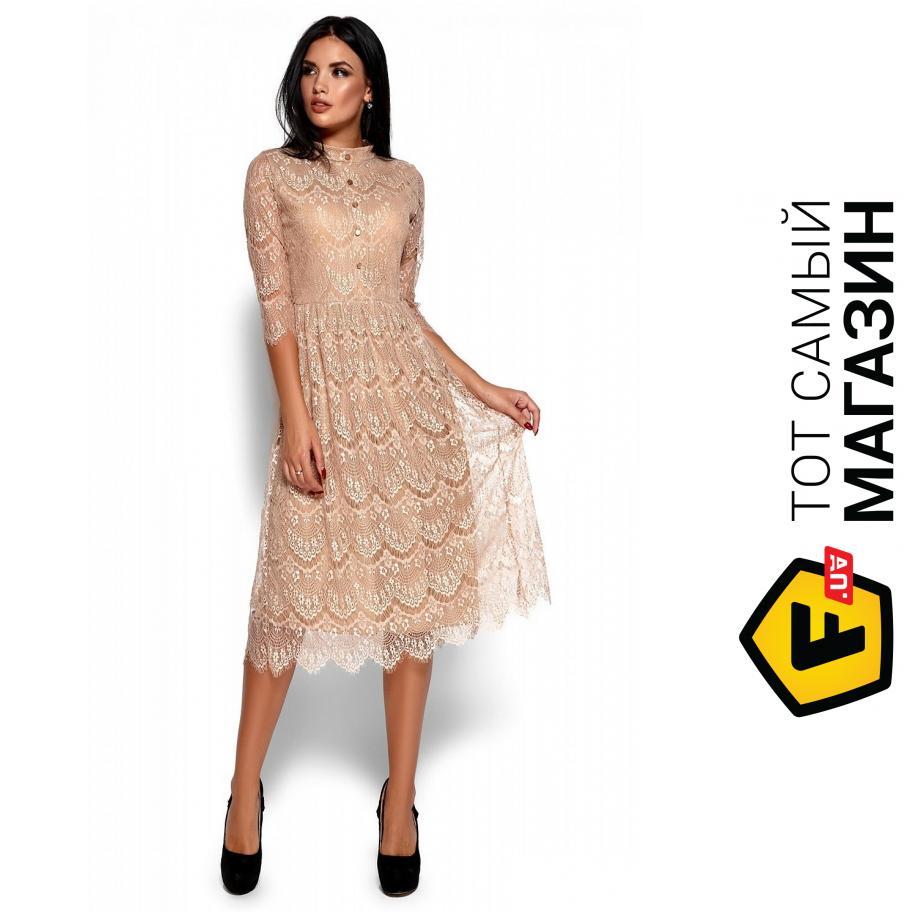 ᐈ Платье KARREE Шанти S Бежевый (KAR-PL00144) ~ Купить  ЦЕНА ... 7514bcf246ea9