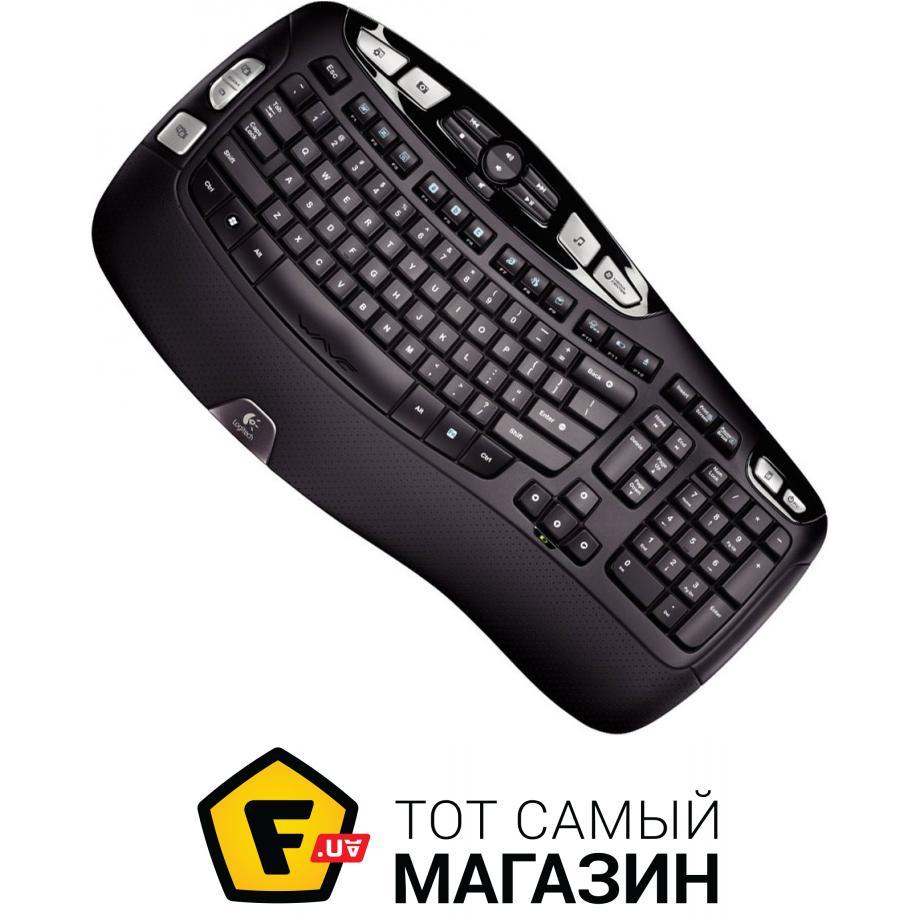Клавиатура Logitech Wireless Keyboard K350 USB (920-002025)
