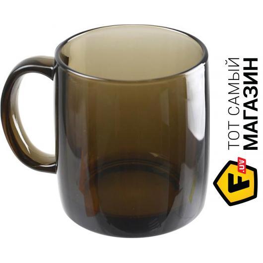 bd57565e6fd1f Кружка Luminarc для чая 380 мл — 1 шт. — ударопрочное стекло цвет  коричневый можно мыть в посудомоечной ...