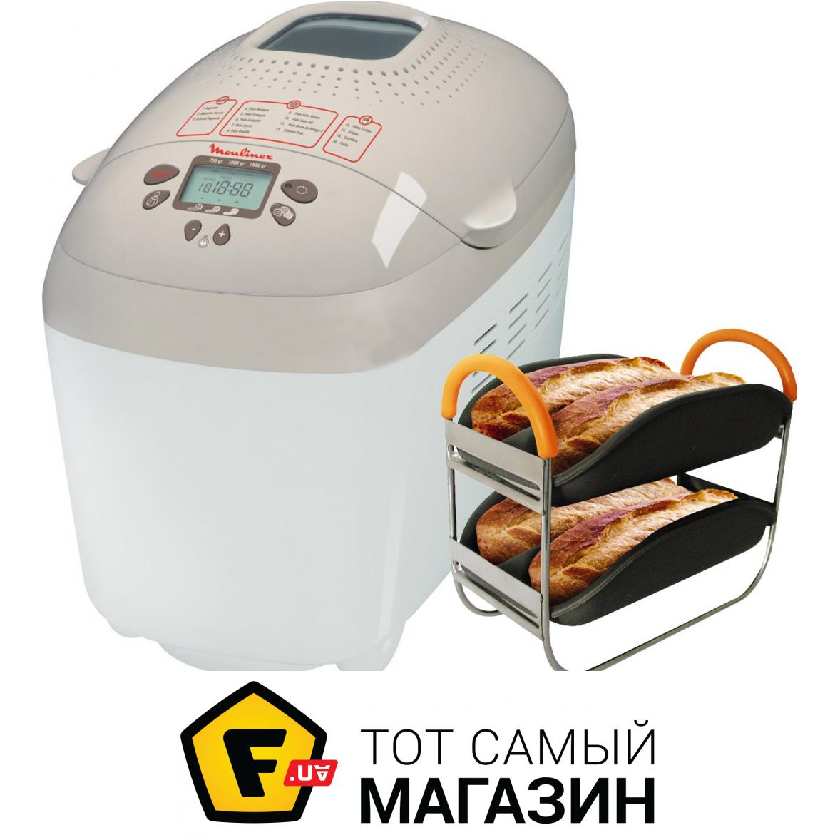 рецепты для хлебопечки мулинекс home bread baguette
