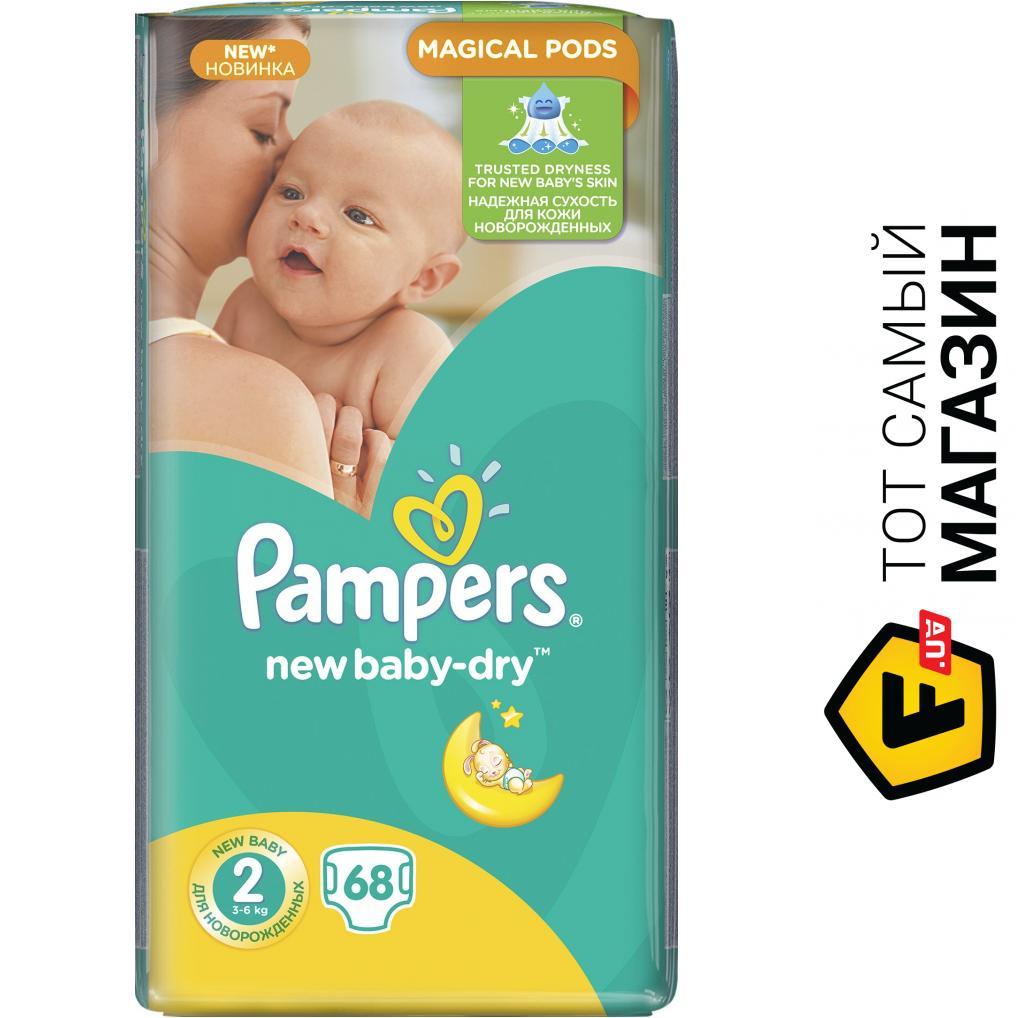 c8806ca1a942 ᐈ PAMPERS New Baby-Dry Mini 2 3-6кг, 68шт. ~ Купить  ЦЕНА Снижена ...