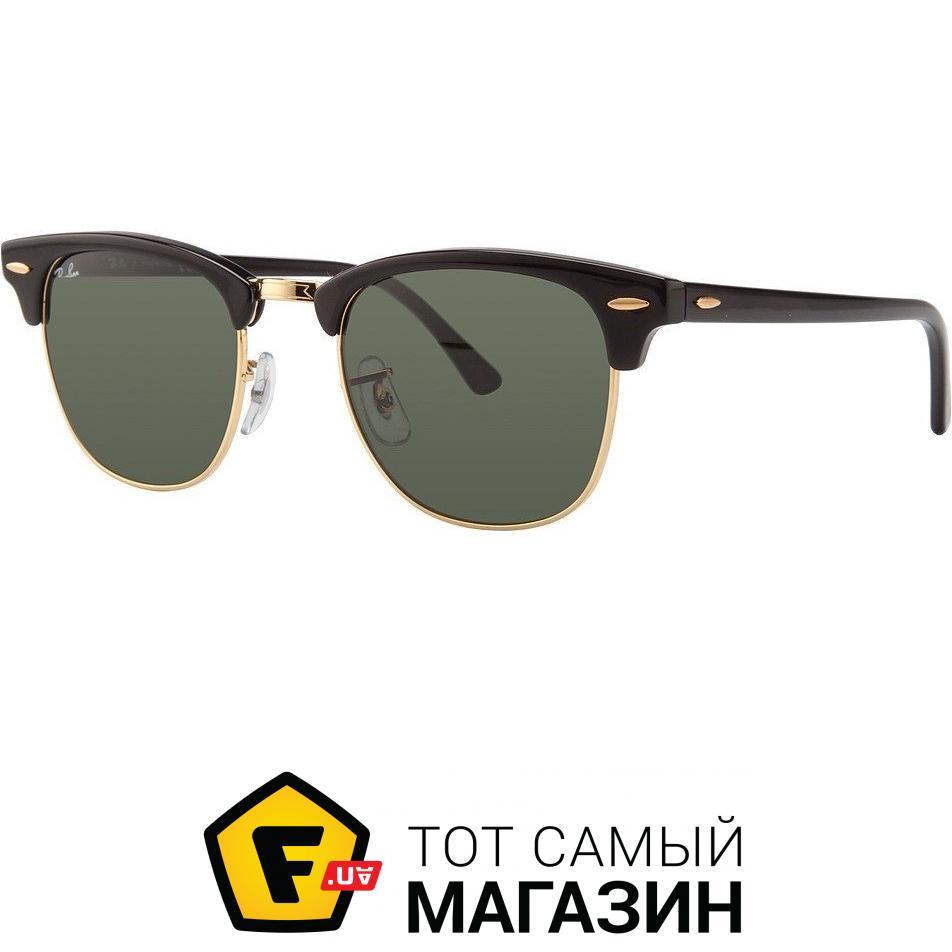 1326c7d0f443 ᐈ Солнцезащитные очки Ray-Ban Clubmaster Черный (RB3016W0365 51 ...