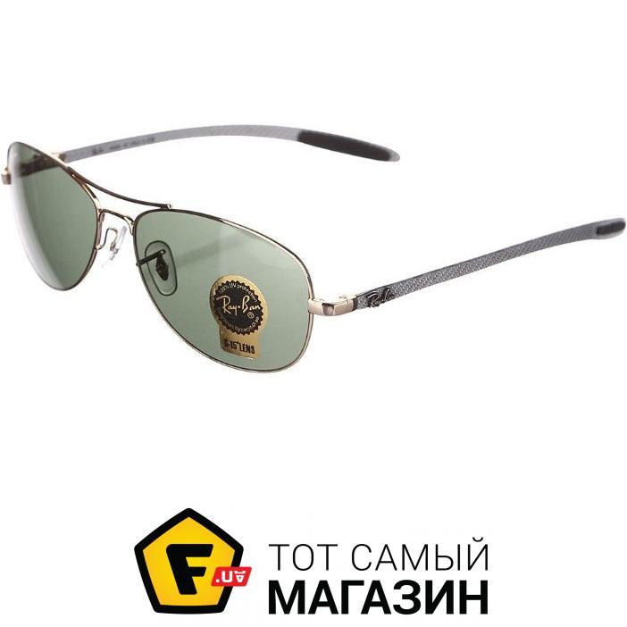Солнцезащитные очки Ray-Ban Cockpit Carbon Fibre Серебристый (RB8301 001)  Категория  Унисекс 0bdc658abba