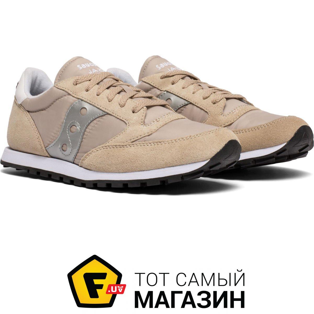 online store 39b60 bd91f Saucony Jazz Low Pro Euro 9.5, tan/silver (2866-269s)