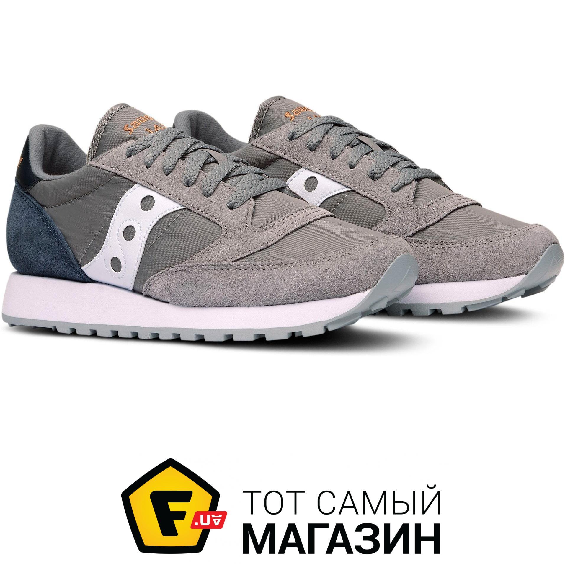 sports shoes 3e872 24781 Saucony Jazz Original 9.5, grey/navy (1044-454s)