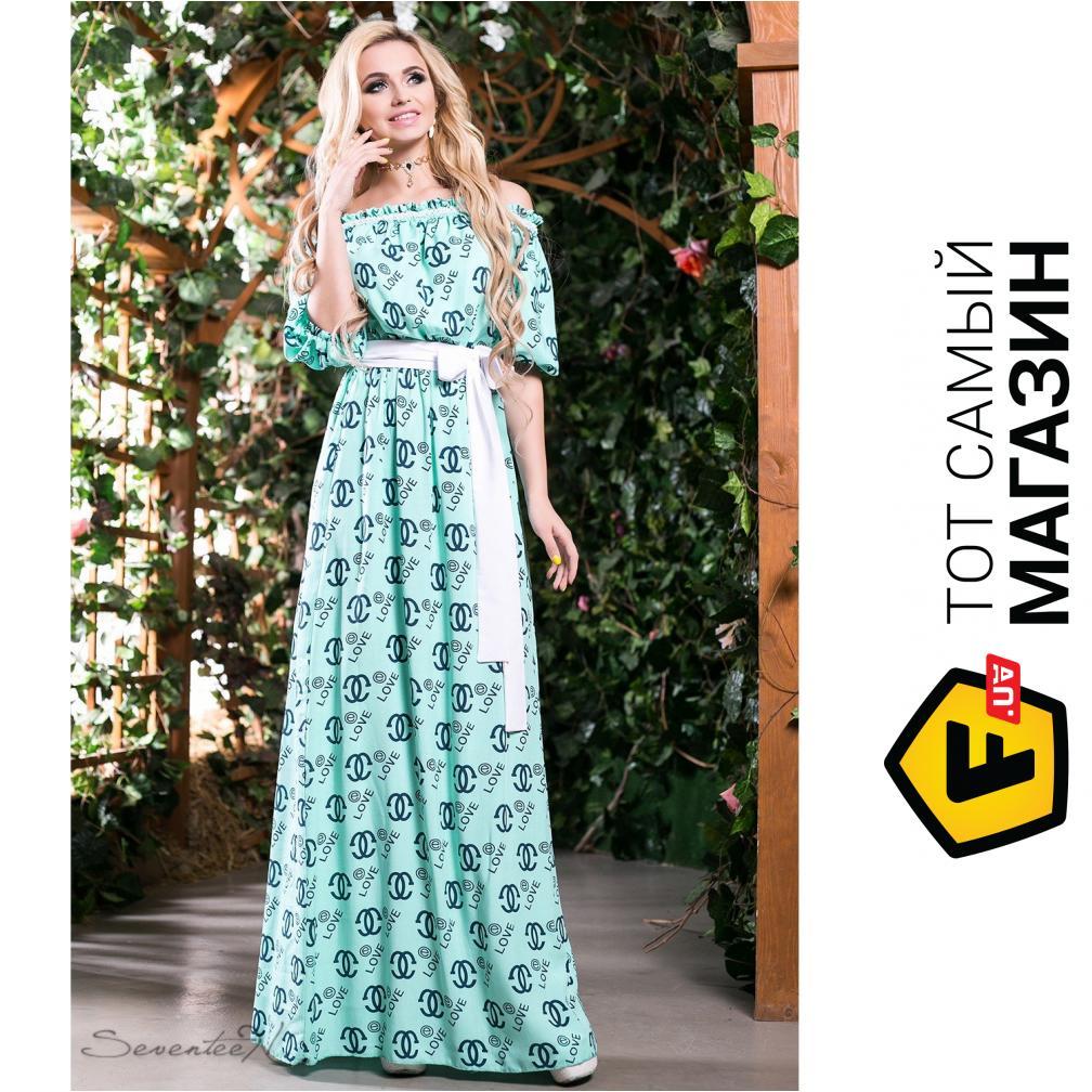987c121c5ff ᐈ SEVENTEEN Летнее платье из штапеля Прованс