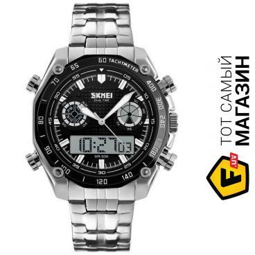 303882b3 ᐈ Спортивные мужские часы SKMEI DIRECT 1204 Steel (10083) ~ Купить ...