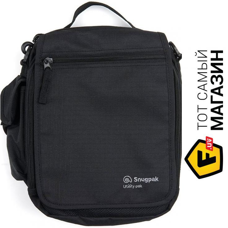 """3ac9540df7cb Сумка Snugpak — полиэстер — стиль мужской спортивный оригинал черный  """"Utility Pack black (1568.01.49)"""""""