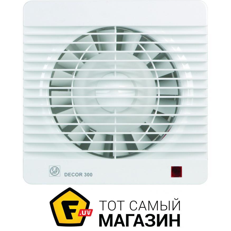 Вытяжной вентилятор Soler & Palau DECOR 100 C White