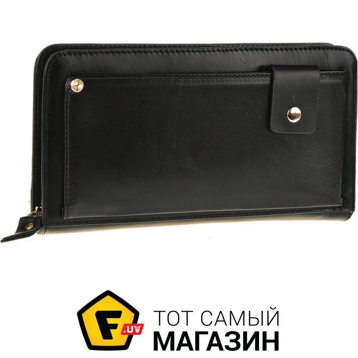 """41b6077ae545 Клатч Tiding Bag — натуральная кожа — стиль мужской повседневный оригинал  черный """"Jn9019A"""""""