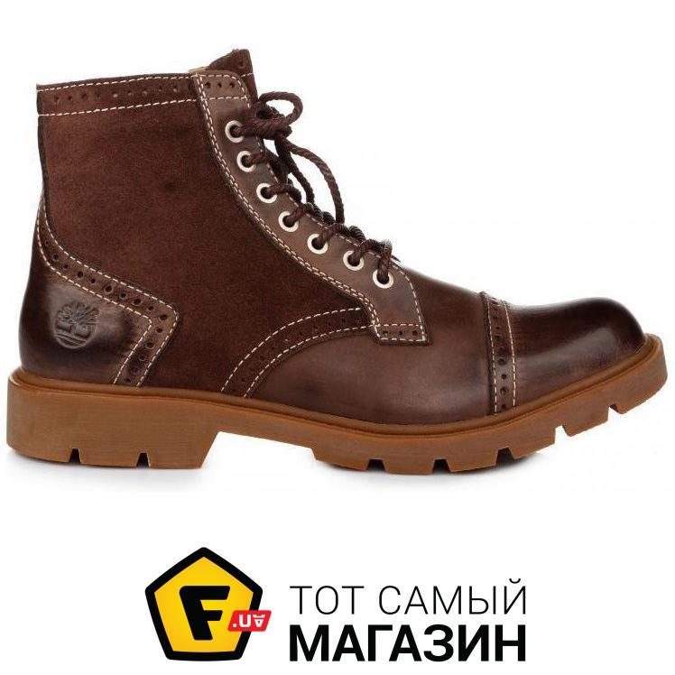 Мужские ботинки Timberland Earthkeepers Oxford High Espresso размер 41  (114695-41) 87523db1b6756