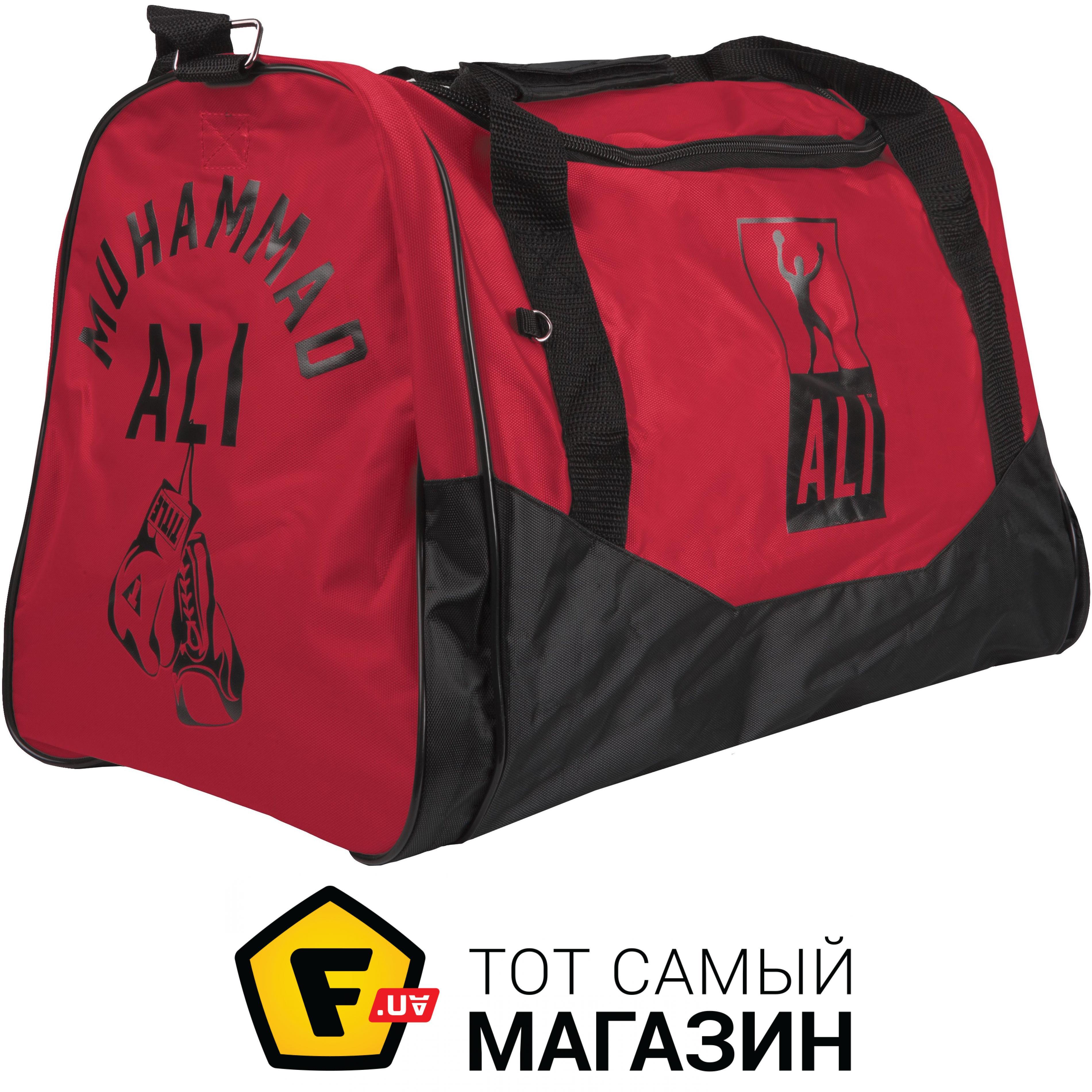 ef925a1307e1 ᐈ TITLE BOXING Ali Personal Sport Bag черный/красный ~ Купить? ЦЕНА ...