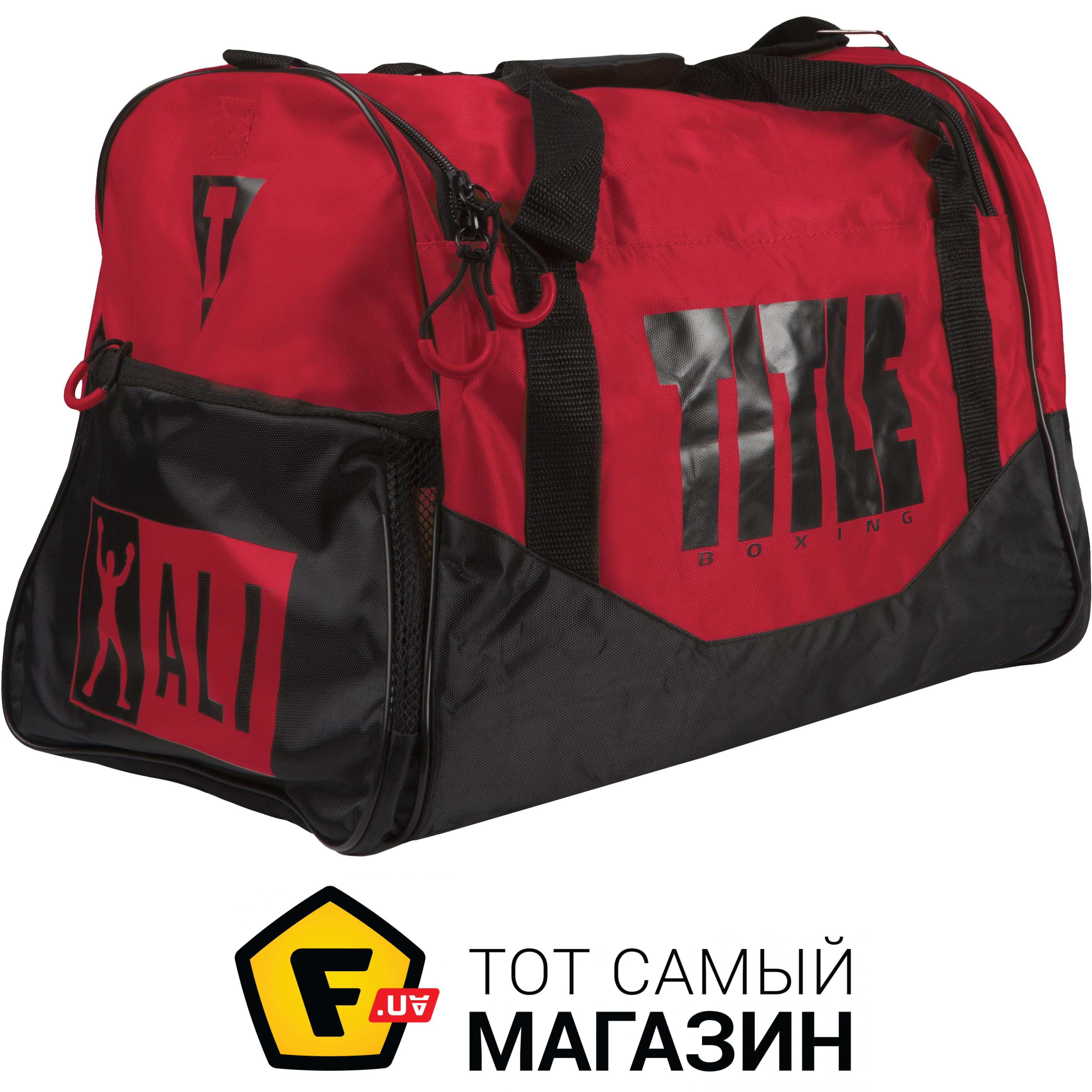 b90f8e965968 Title Boxing Ali Personal Sport Bag черный/красный (ALIBAG1) Назначение: для  бокса