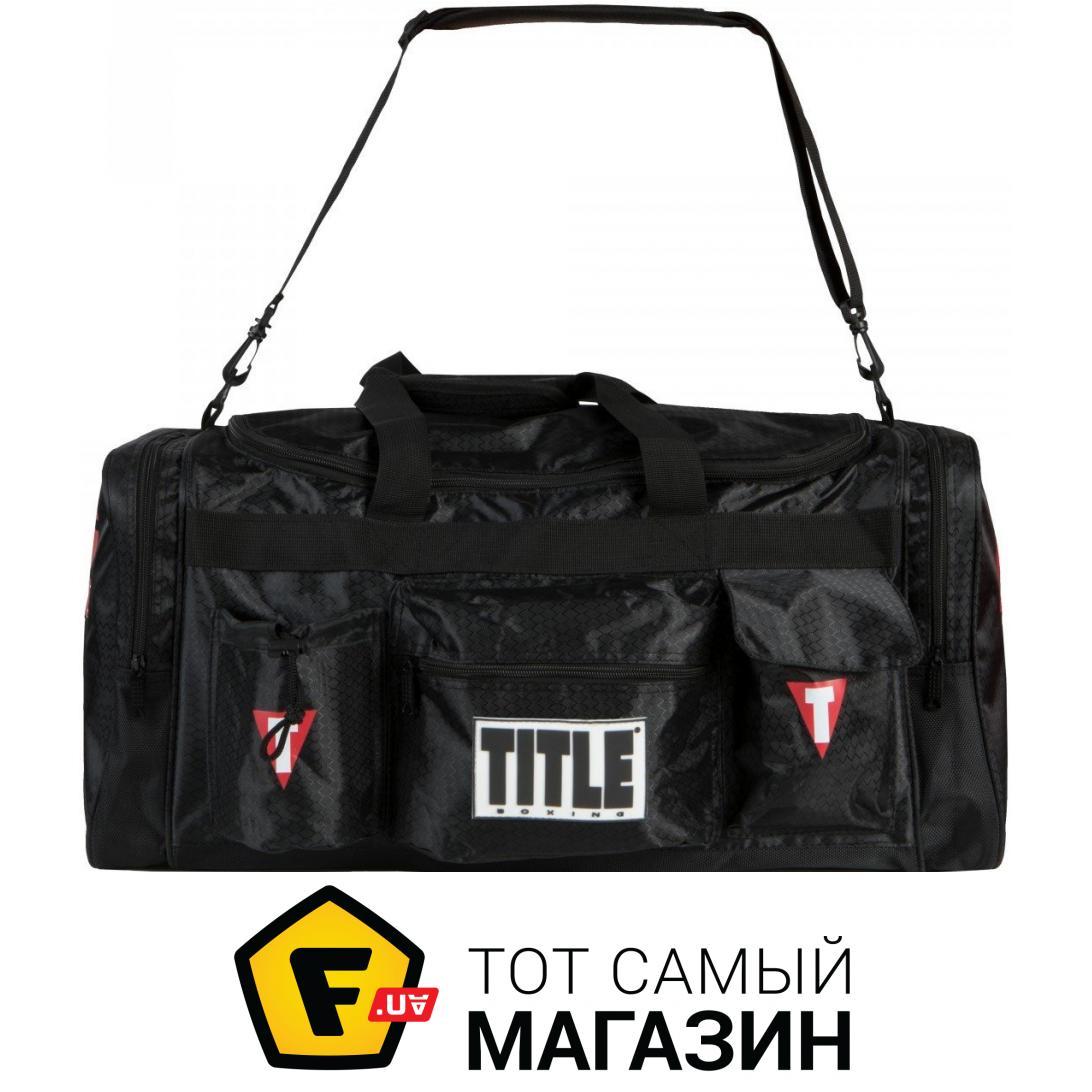 84fcf1db0d58 Title Boxing Deluxe Gear Bag 2.0 черный (TBAG24) Материал: нейлон, 3 из