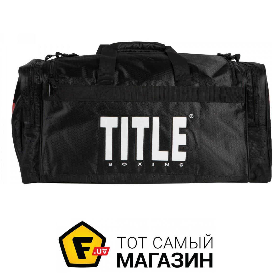 dd3068388238 Title Boxing Deluxe Gear Bag 2.0 черный (TBAG24) Назначение: для бокса, для