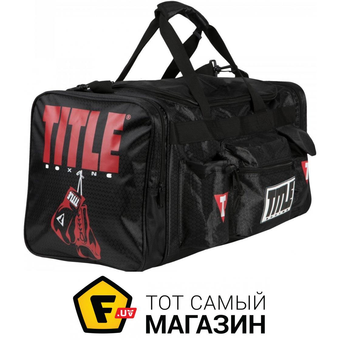 6ac1af1b7056 ᐈ TITLE BOXING Deluxe Gear Bag 2.0 черный (TBAG24) ~ Купить? ЦЕНА ...