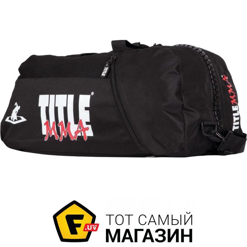 e0c224447c72 ᐈ TITLE BOXING MMA Champion Sport черный (MMBAG-12) ~ Купить? ЦЕНА ...
