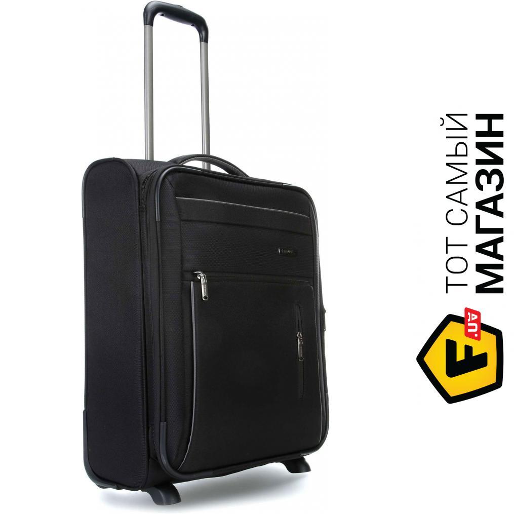 f28ad9a161ac Дорожный чемодан Travelite Capri S, Black (TL089807-01) Материал: полиэстер,