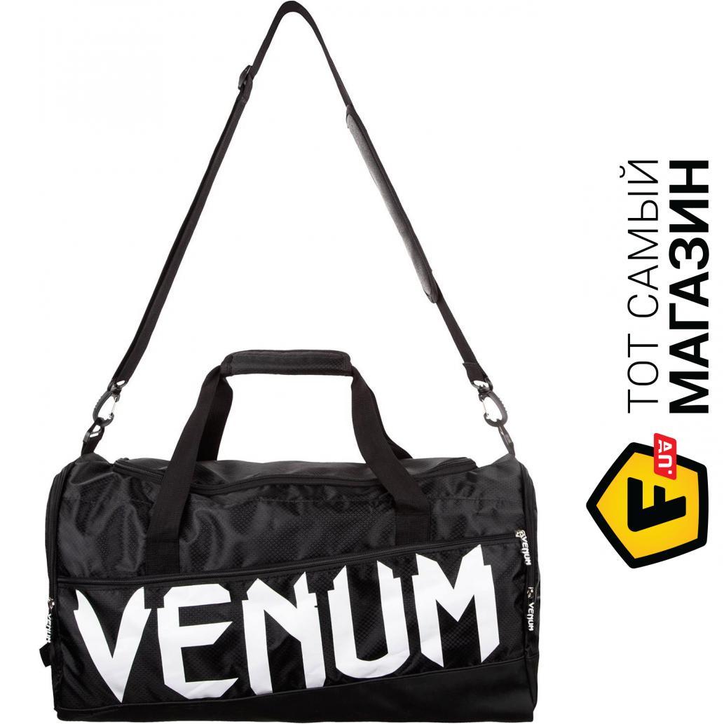 13cf4a89a5b1 Venum Sparring Sport Bag один размер, черный/белый (02826) Материал:  полиэстер