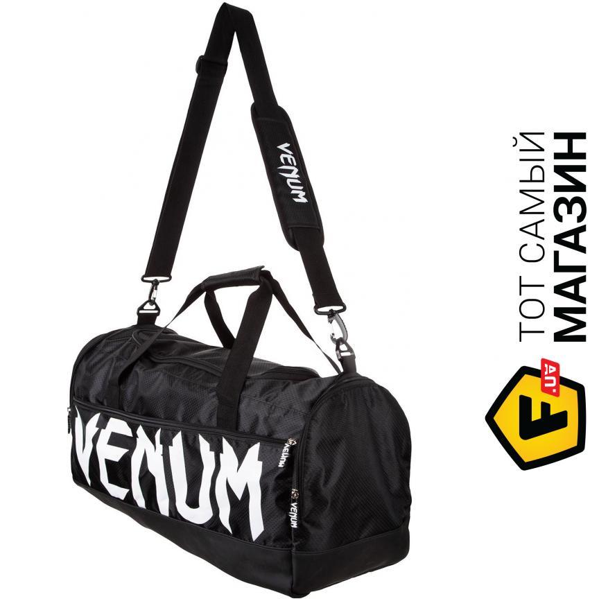 7a3f929a6668 Venum Sparring Sport Bag один размер, черный/белый (02826) Назначение: для