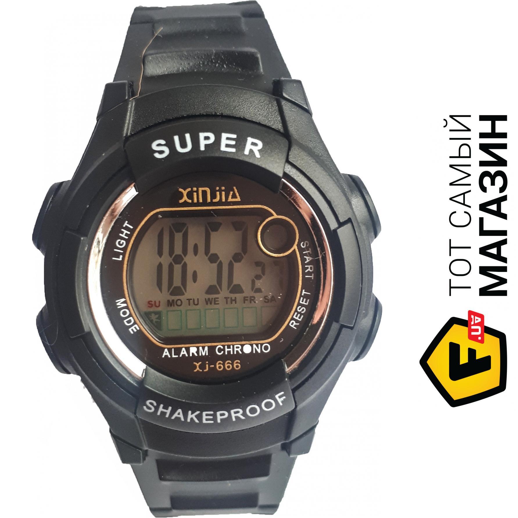 a8f3e6b9 ᐈ Наручные часы Xinjia 666 спортивные электронные Черные ~ Купить ...