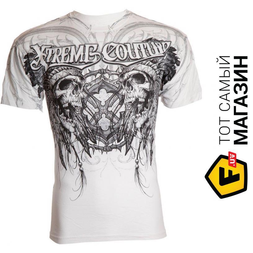 172af79d853d2 ᐈ XTREME COUTURE T-Shirt Destiny Skulls M, белый ~ Купить? ЦЕНА ...