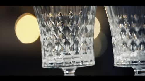 Cristal Darques Lady Diamond.Nabor Bokalov Cristal D Arques Diamax Lady Diamond 190ml Red 2sht J1643